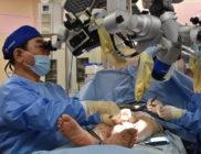 リンパ浮腫の手術の様子